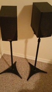 Mission speakers and stands