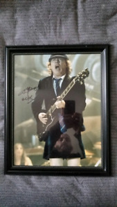 Angus Young AC/DC Autographed 16x20