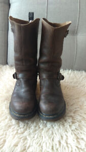 Dr. Martens Mid-calf brown boots, size 7