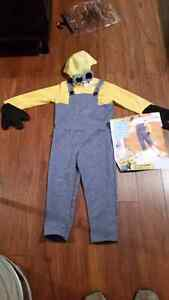 Minion costume youth size small