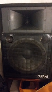 Yamaha speakers