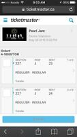 Pearl jam tickets ( SOLD OUT )
