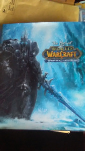 World of warcraft hardcover Wrath Of the Lich King