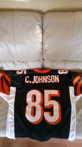 C. JOHNSON #85 reebok NFL stiched jersey