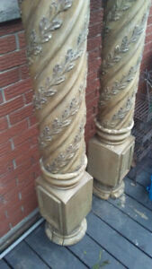 Decorative posts
