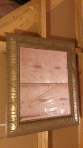 Gold/ Grey Mirror Frame  NEED IT GONE ASAP!