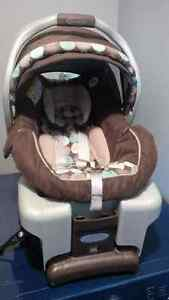 Graco Infant Carseat and Base Kitchener / Waterloo Kitchener Area image 3