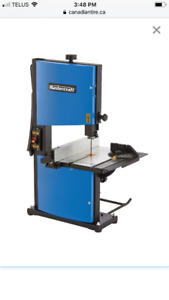 Master craft band saw