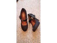 Various black heels