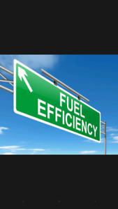 Use less fuel! Drive More! Improve your fuel efficiency!