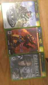 Lot of 3 video games Xbox