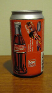 REDUCED - Coca-Cola - Can of 36 crayons - NEW