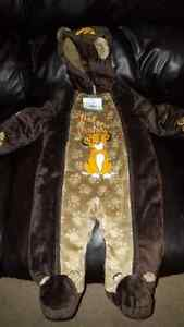 Brand new with tags lion king baby snow suit