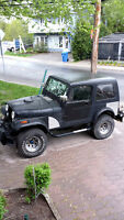 1980 Jeep CJ Coupe (2 door) 2x4