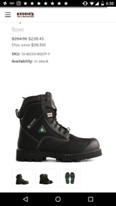Selling Royer Work Boots