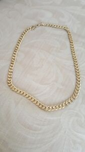 18k PLATED GOLD BEAUTIFUL RICH CHAIN CALL 519-673-9819