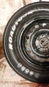 ***4X ALL SEASON 15 INCH RADIAL TIRES AND RIMS****
