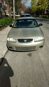 2003 Nissan Sentra XE Sedan, very Low mileage