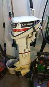 1991 Johnson 9.9 hp outboard