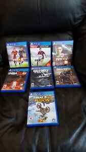 Selling games Fifa, NBA, Call Of Duty, Trials Fusion  Kitchener / Waterloo Kitchener Area image 1