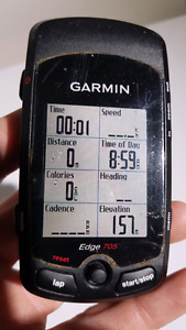 For Sale Garmin Edge 705 HR Cycling Computers.