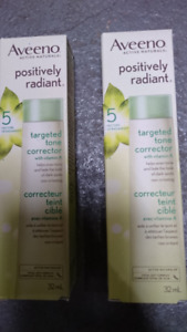 AVEENO POSITIVELY RADIANT Targeted Tone Corrector, 32 mL