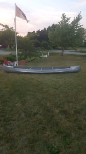 17ft Smokercraft Aluminum Canoe