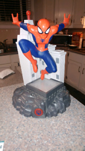 Talking spiderman penny bank