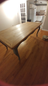 Penny & Co solid wood dining table