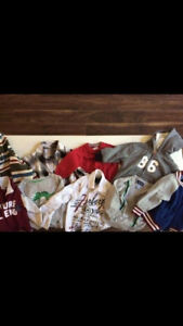 HUGE lot of boys 12-18 months clothing, shoes and boots!