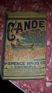 Really neat tobacco advertising store card