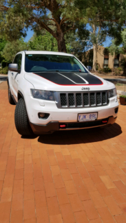 Jeep Grand Cherokee Trailhawk 2013 Evatt Belconnen Area Preview
