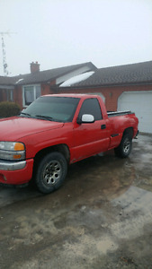 2005 GMC Single cab short box