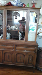 Sideboard Hutch and China Cabinet