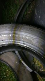 X4 Honda civic tyre amazing condition