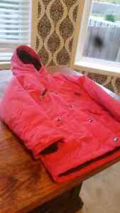 Lands End Girls size 7/8 winter jacket Kitchener / Waterloo Kitchener Area image 1