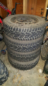 Snow tires on rims 185/70/R14