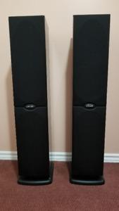 Polk Audio 250 W high end Tower Speakers - RT800i.