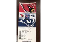 Genuine NFL tickets