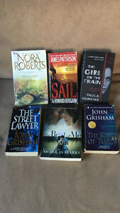Book Lot Including James Patterson, John Grisham...