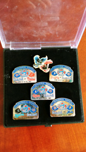 Blue jays collectable pins