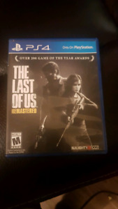 The last of us PS4 video game