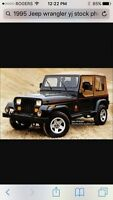 Looking for 1988 to 1995 Jeep YJ