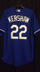 Authentic Los Angeles Dodgers Clayton Kershaw Jersey W/ Hat