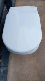 Roca BTW toilet and wall hung sink