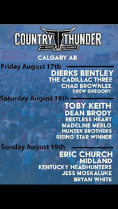 Country Thunder Tickets