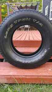 Tires 225 75 16 two all season and two winter