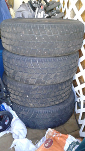 205/55/R16 studded tires and rims