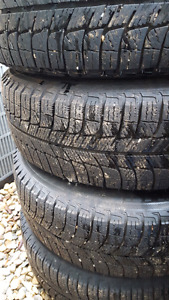 4xMichelin X-Ice 205/60/R16 - 5x114.3 steel rims