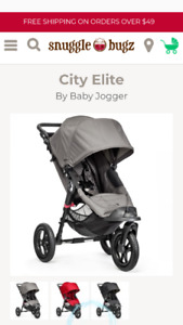 Baby jogger elite stroller immaculate condition